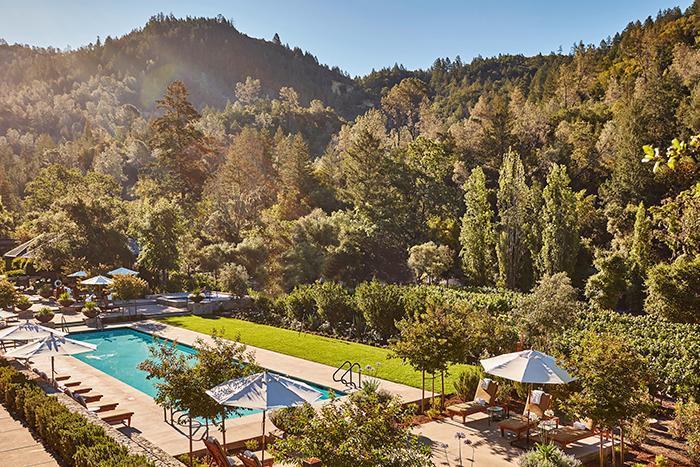 Calistoga Ranch erbjuder naturskönt lugn.