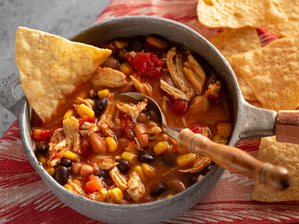 Tacosoppa med nachos