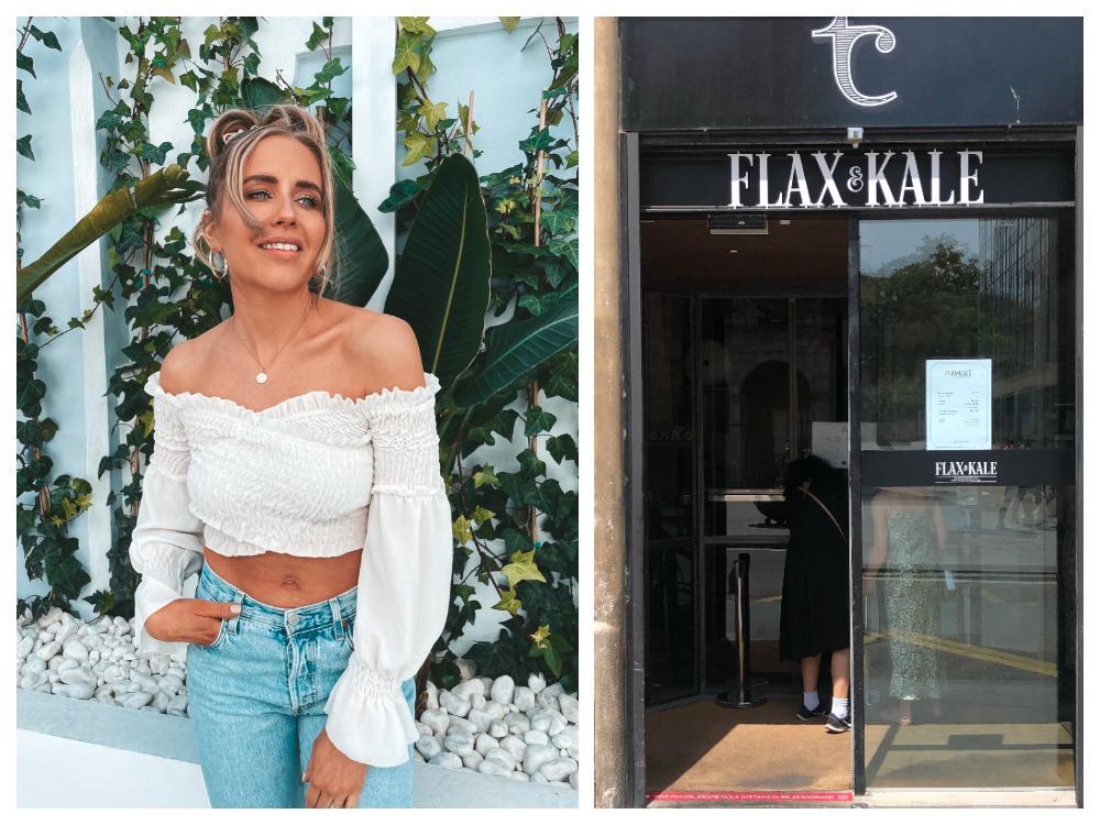 Favoritrestaurangen Flax & Kale ligger i Barcelona.