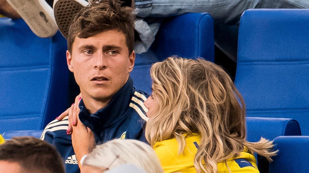 Victor och Maja Nilsson Lindelöf väntar sitt andra barn