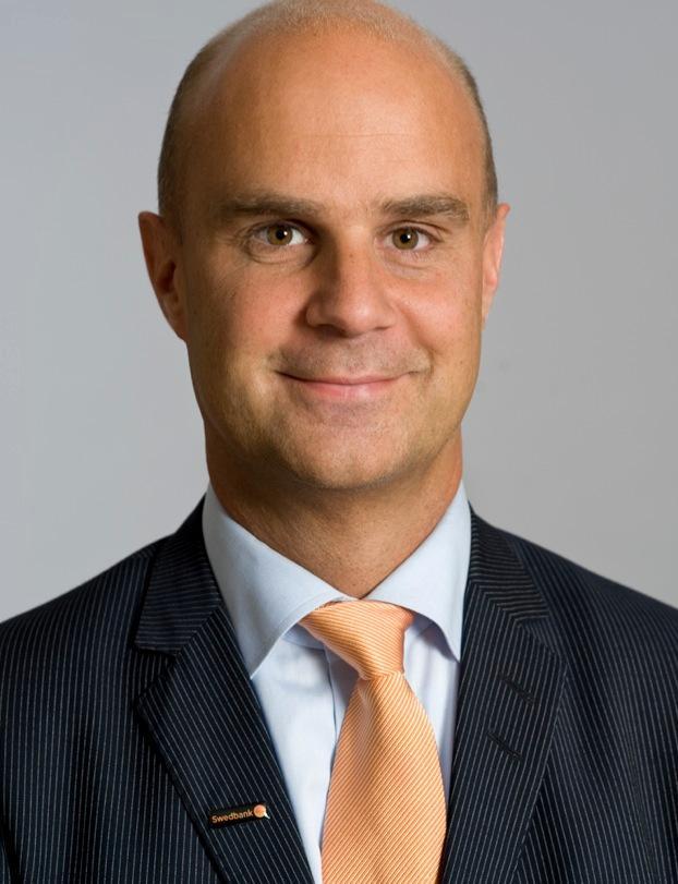 Swedbanks kommunikationschef Peter Borsos.