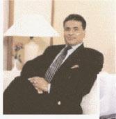Sabir Hussein gömmer sig undan myndigheter på Sri Lanka.