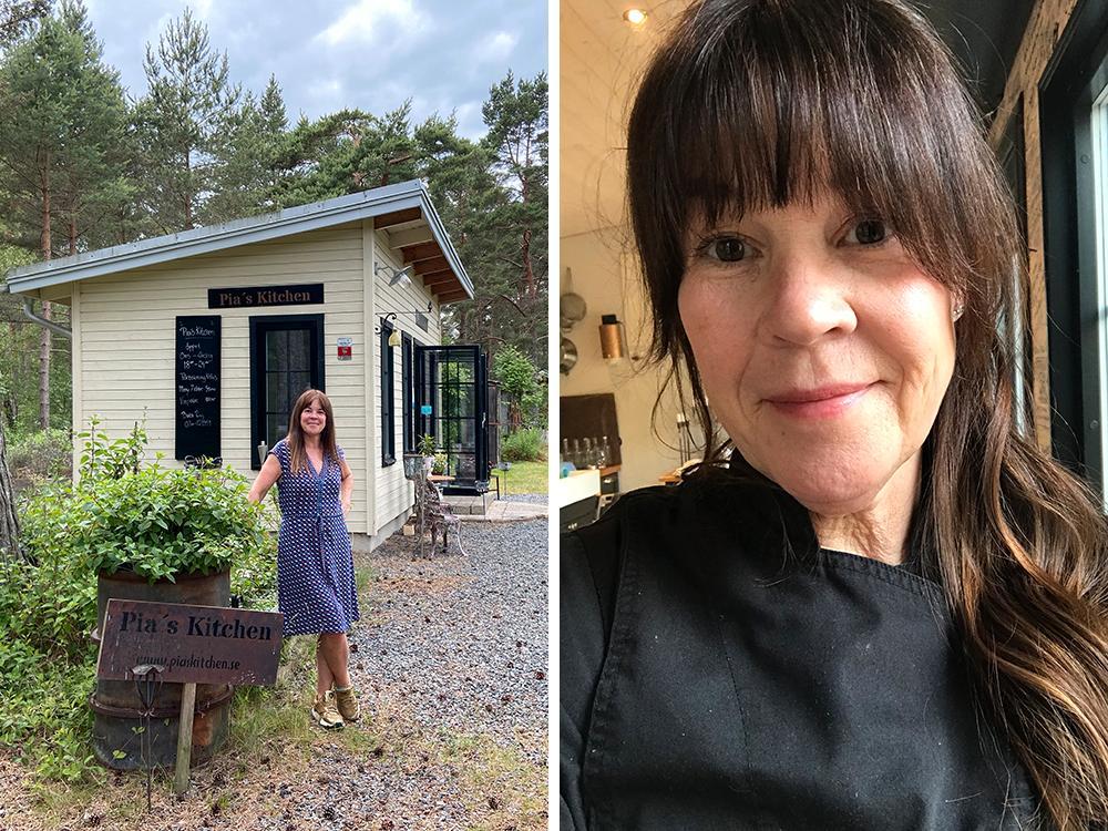 För sju år sedan påbörjade Pia Idberg sin resa mot att driva en helt egen restaurang i en friggebod.