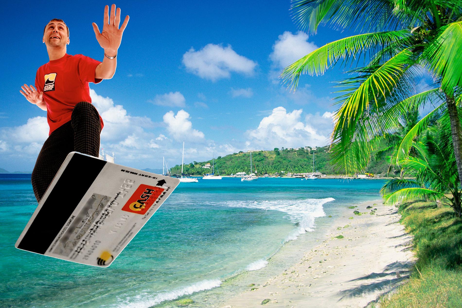 Du kan spara mycket pengar på att boka och resa med rätt bank- eller kreditkort.