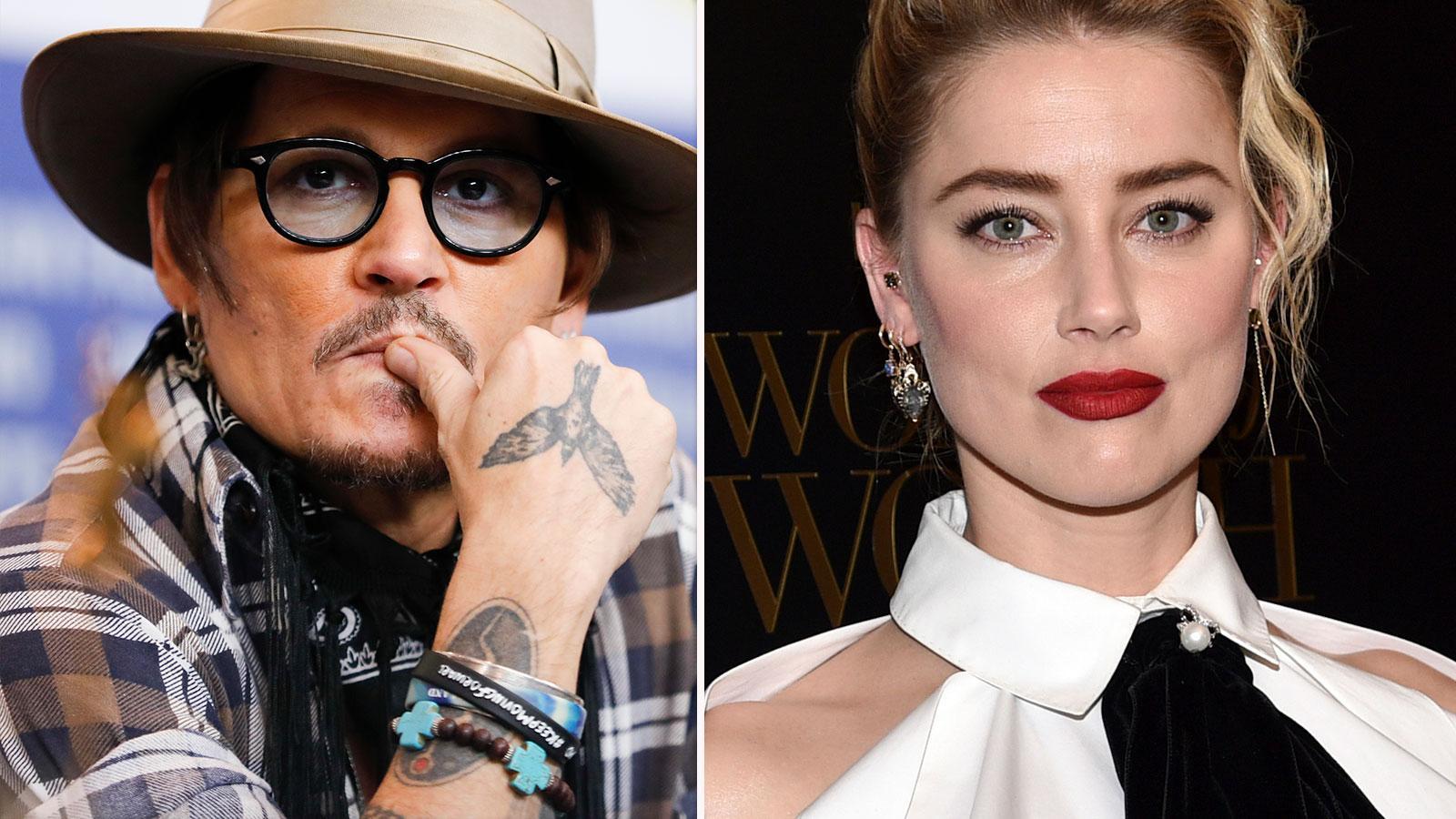 Johnny Depp och Amber Heard skilde sig 2017.
