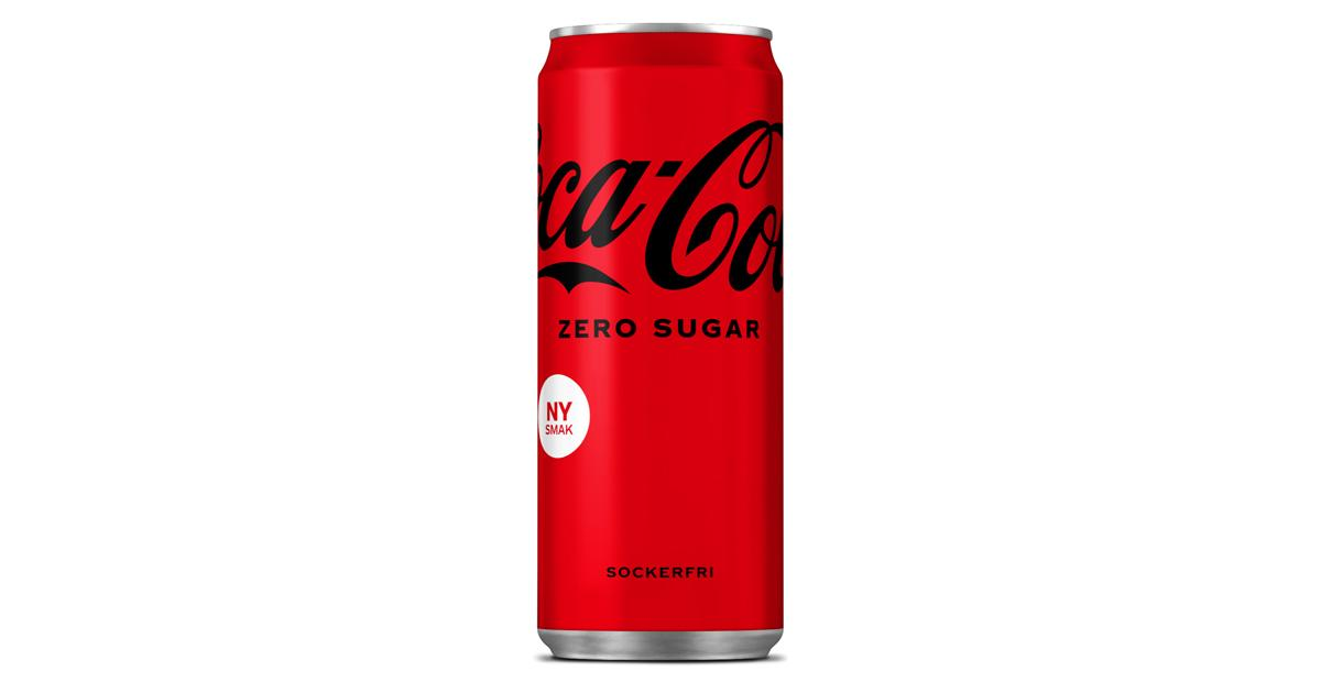 Populära drycken Coca Cola Zero har fått nytt utseende  och ny smak, något som inte uppskattas av alla.
