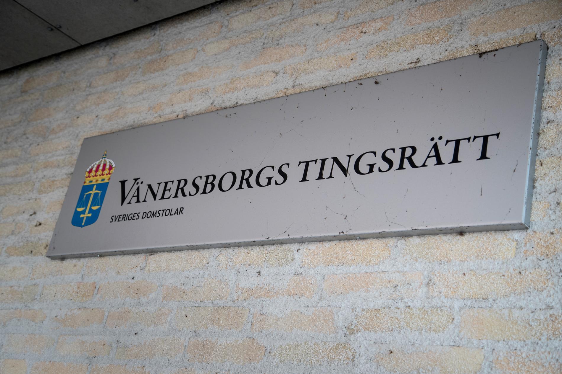 En 30-årig man döms till fängelse vid Vänersborgs tingsrätt. Arkivbild.