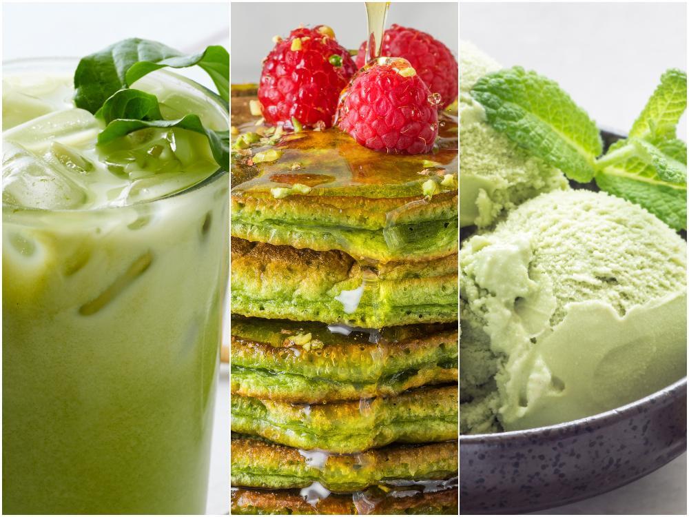 Islatte, pannkakor eller glass – matcha te kan användas till mycket.