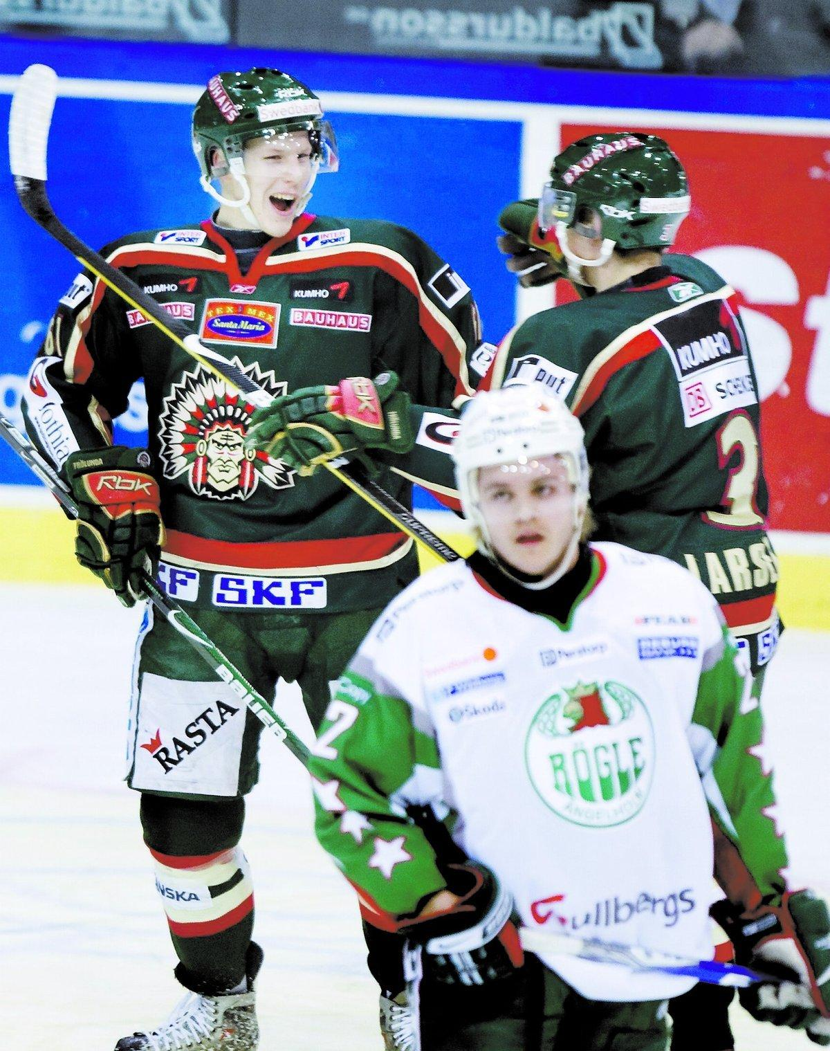 Lars Eller har nu gjort 21 poäng för Frölunda.