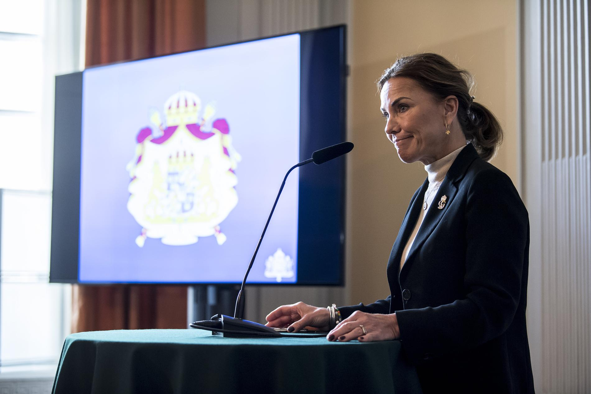 Hovets informationschef Margareta Thorgren.