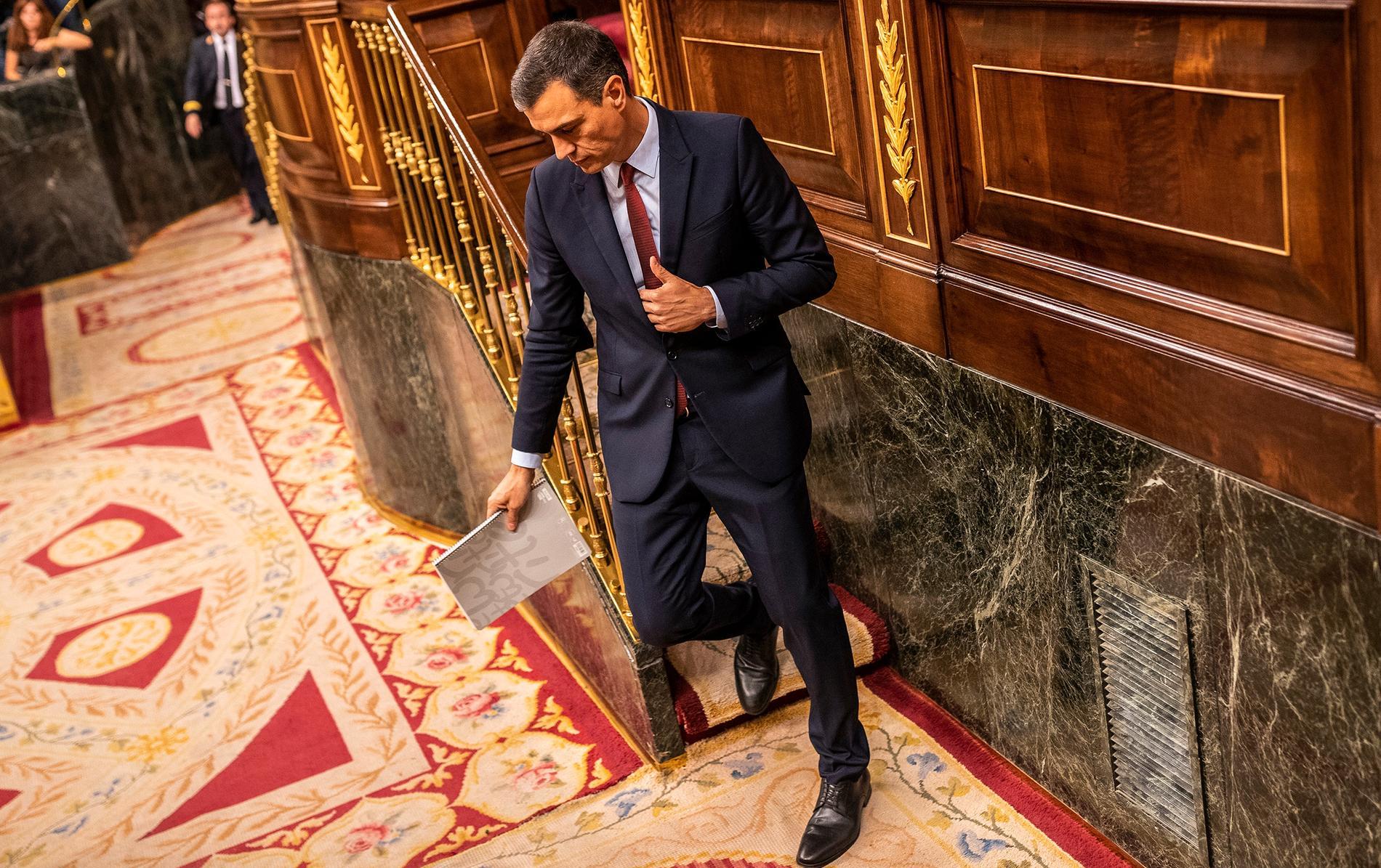 Pedro Sánchez, premiärminister och generalsekreterare för socialdemokratiska PSOE.