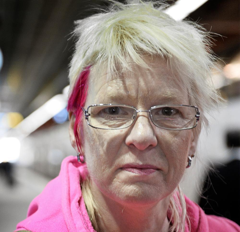 """Beate Grimsrud (född 1963) är författare, dramatiker och regissör. """"Evighetsbarnen"""" är hennes sjunde roman. Foto: Henrik Lindal"""