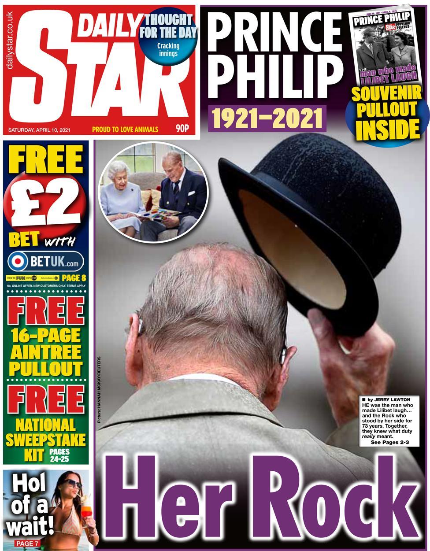 """Daily Star: """"Hennes klippa""""."""