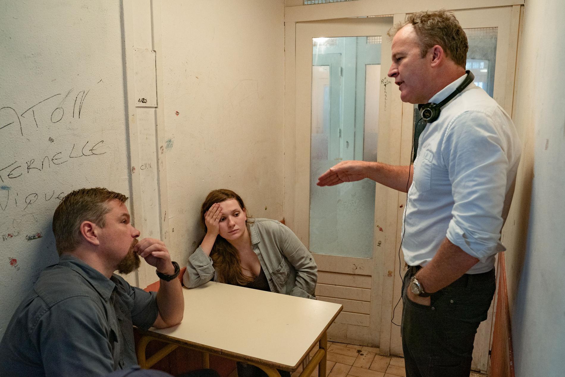Tom McCarthy ger regi till Matt Damon och Abigail Breslin.