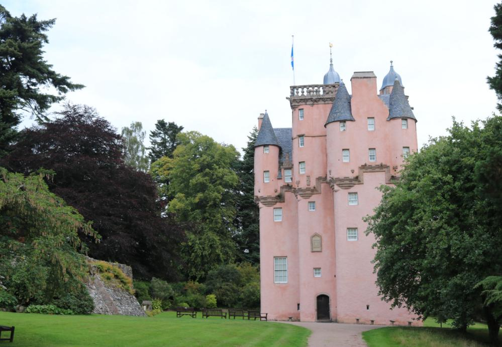 Slottet Craigievar.