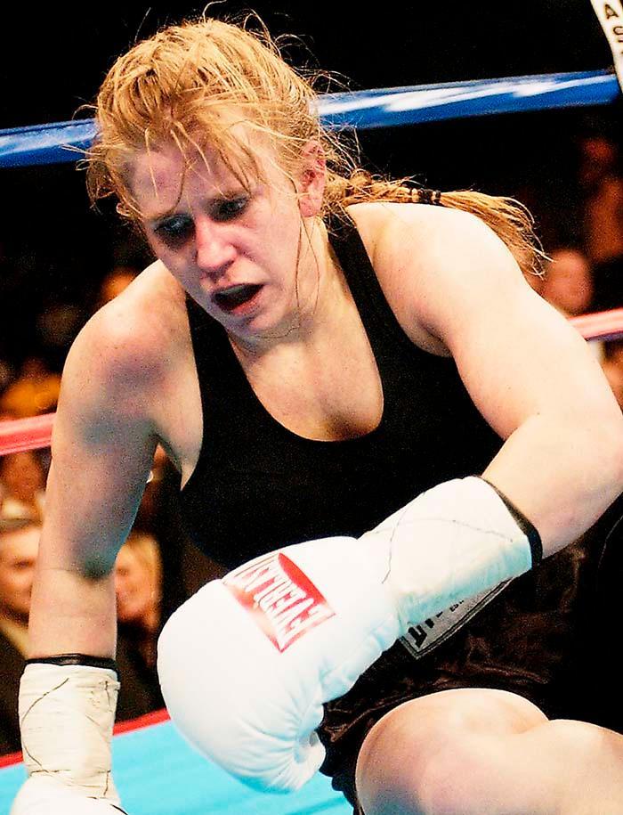 Tonya Harding  –knockad proffsboxare 2003.