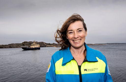 Anna Wåhlin, professor i oceanografi vid Göteborgs universitet