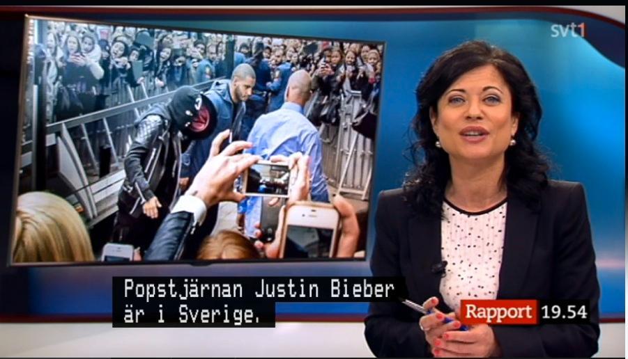 Ur måndagens Rapport, 19:30.