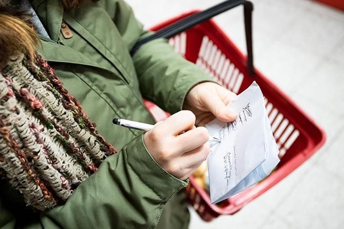 Planera dina inköp och matlagningen, på sätt frigörs ofta mer tid i vardagen.