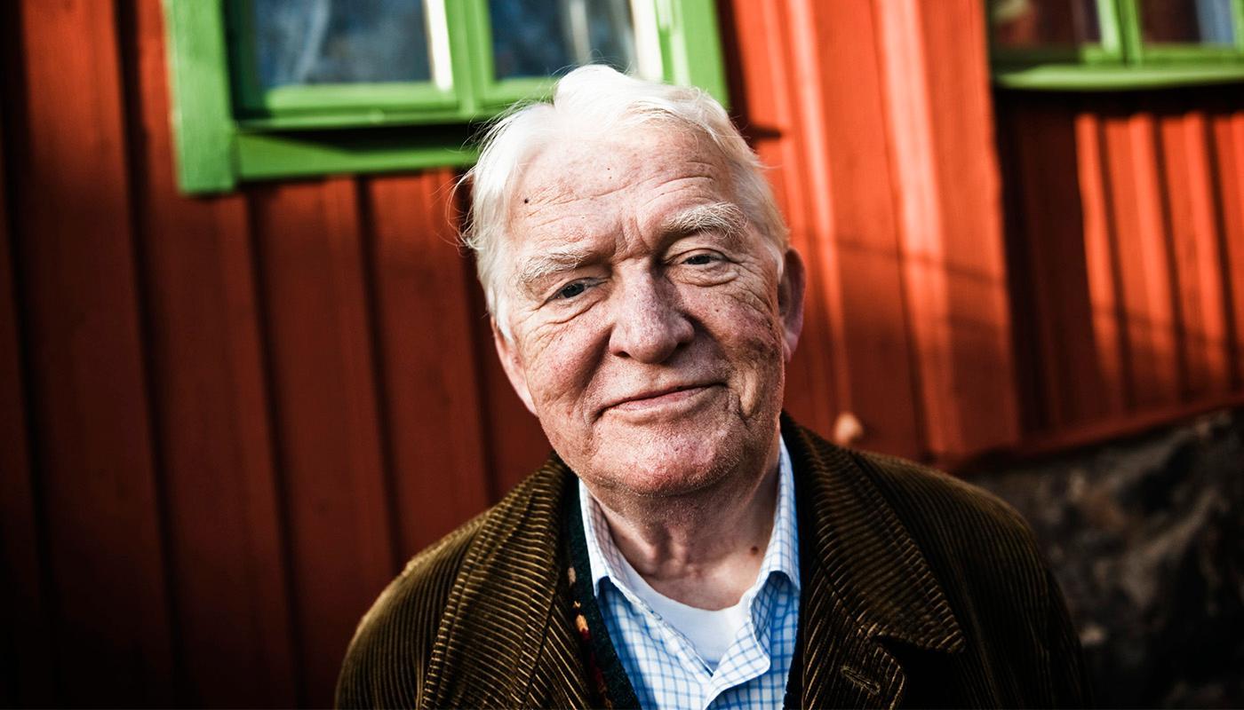 Hans Alfredson blev 86 år gammal.