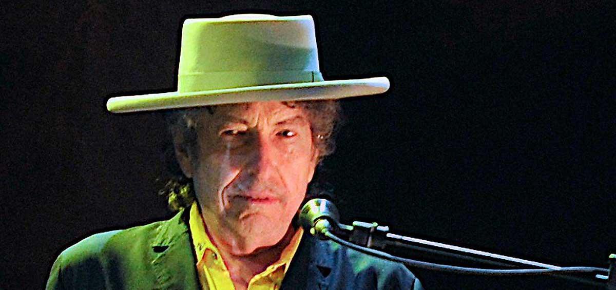 I dag prisas Bob Dylan – även om han inte är på plats i Stockholm.