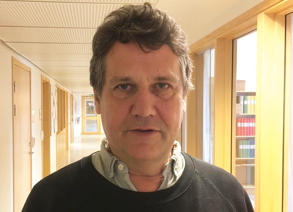 Claes Ekenstam, samtals- och kroppsterapeut.