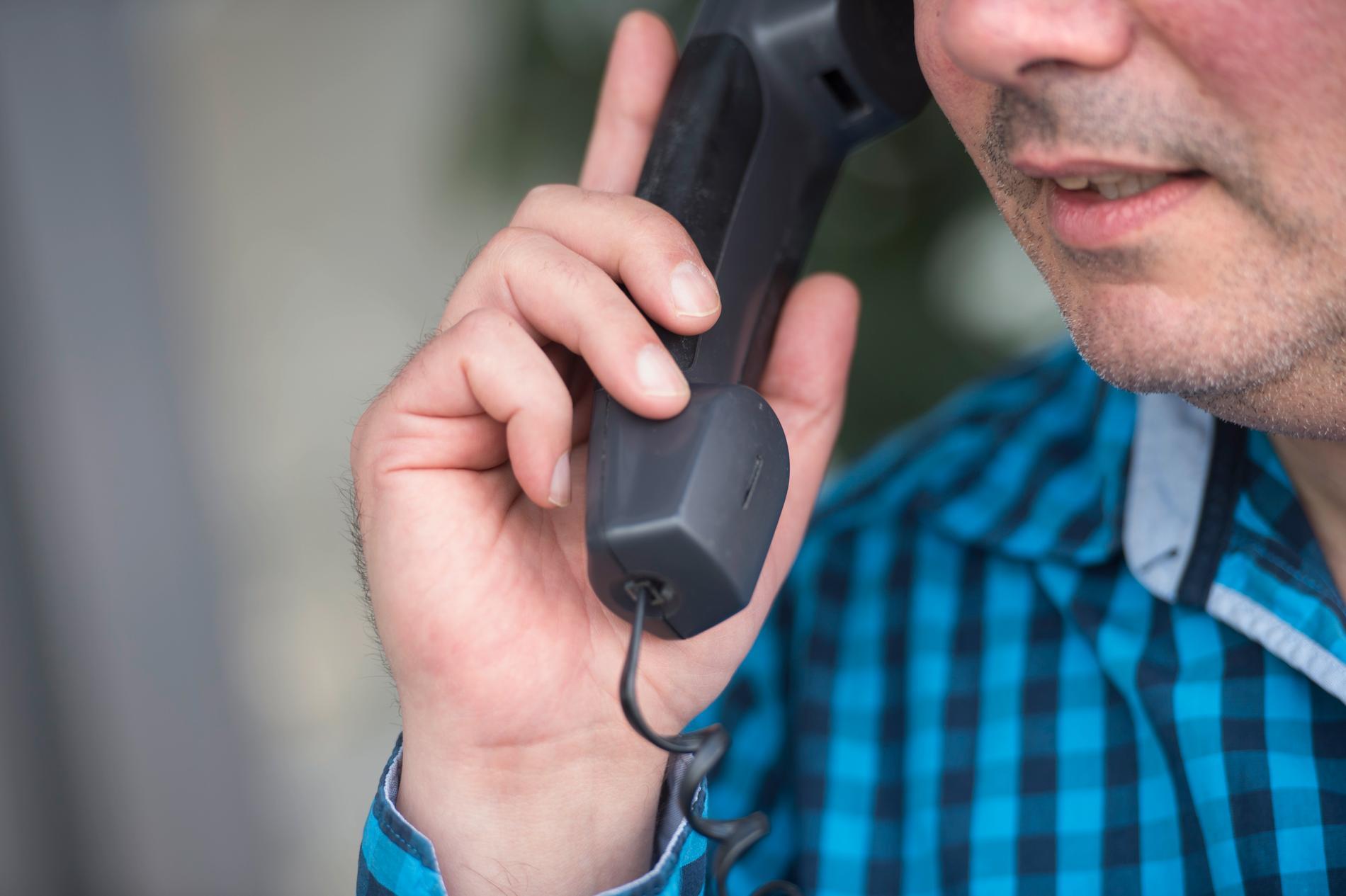 En anställd på Skatteverket tillbringade 55 timmar i telefon med sig själv för att slippa jobba. Arkivbild.