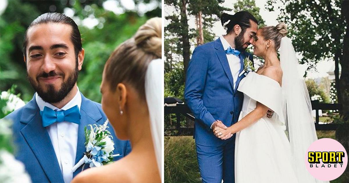 Här gifter sig Mika Zibanejad och Irma Helin