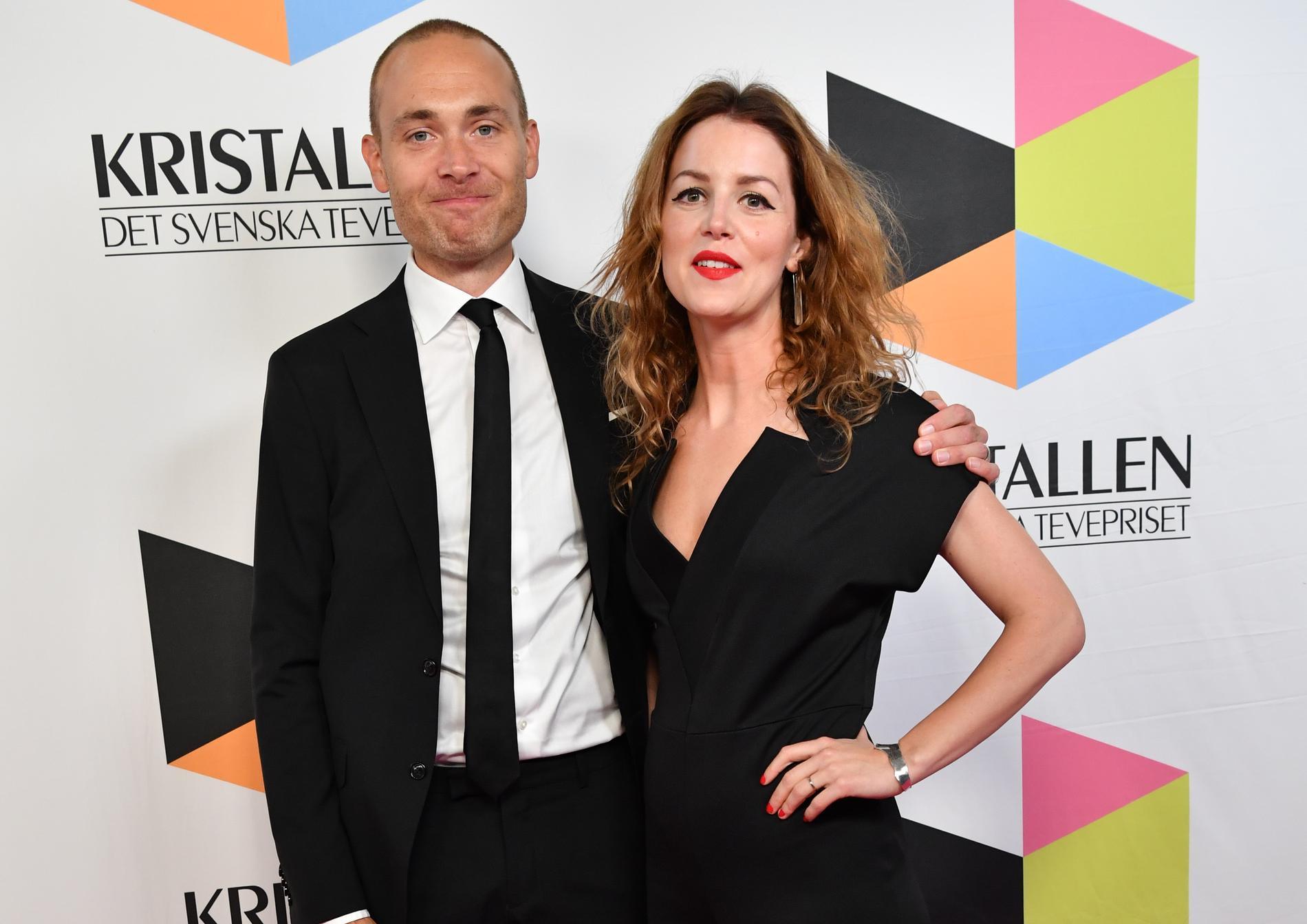 Jesper Rönndahl och Marie Agerhäll har fått barn.