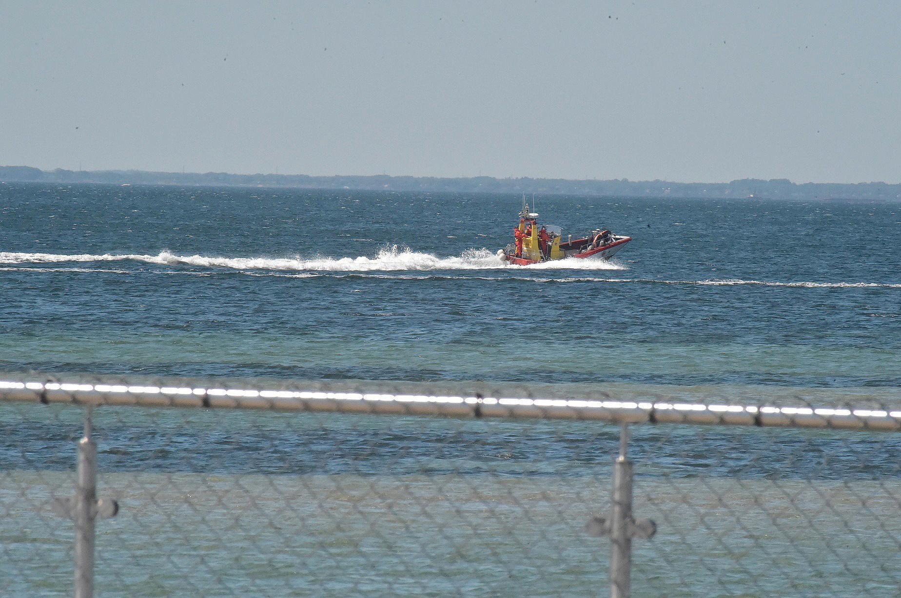 Räddningsbåt.