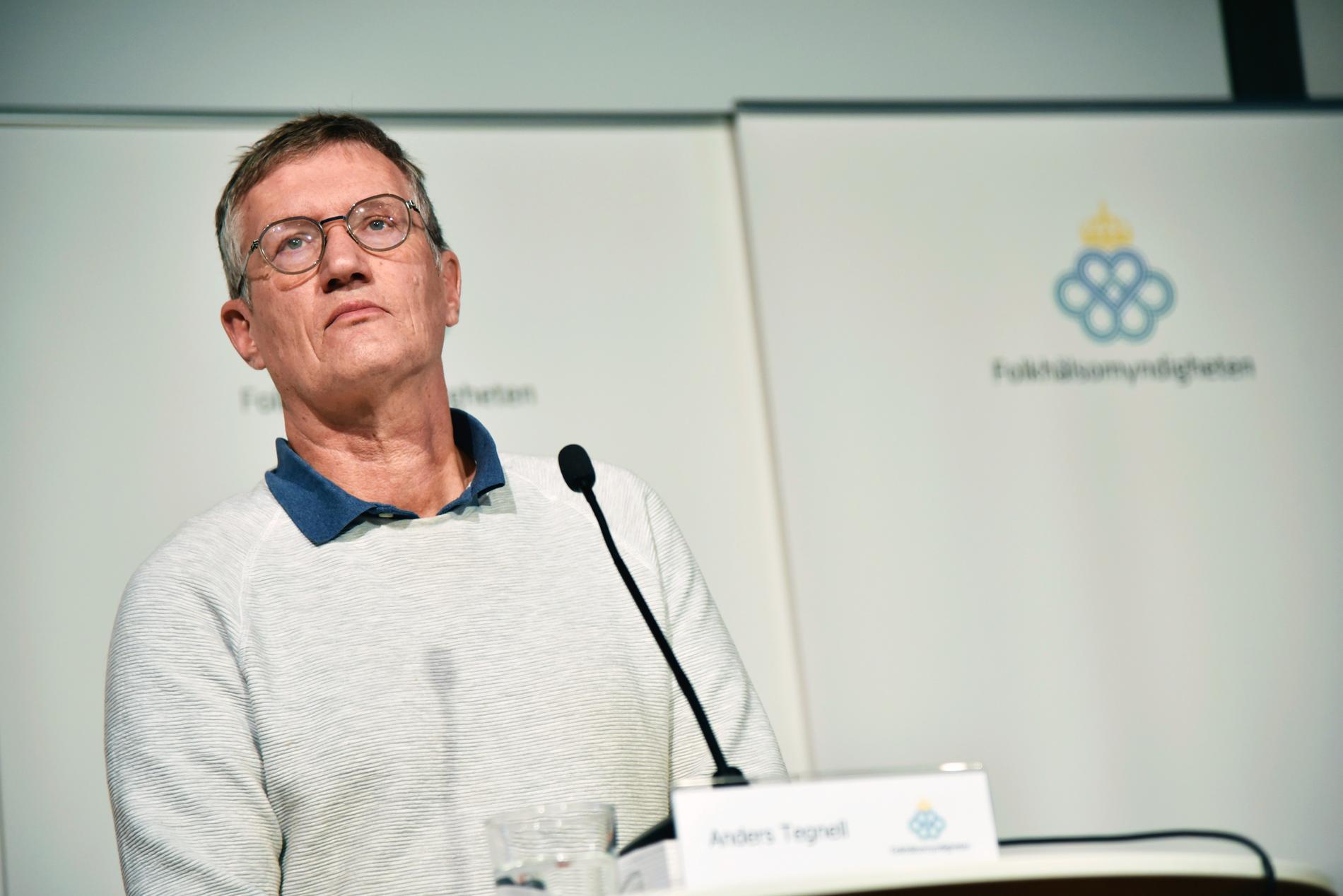 Statsepidemiolog Anders Tegnell. FHM anser att pandemilagen ska användas med försiktighet. Arkivbild.