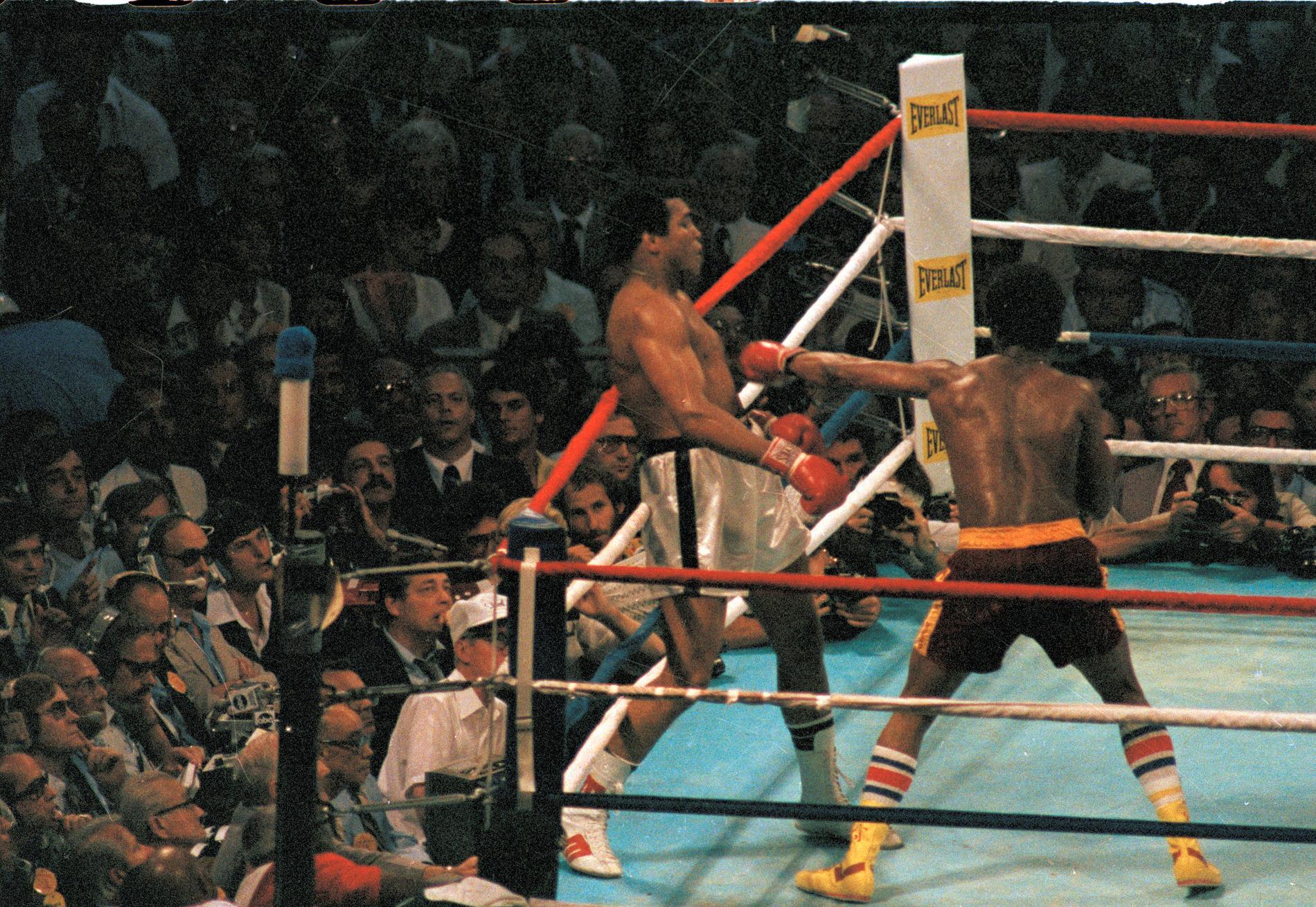 Muhammad Ali fick sin revansch i returmötet i New Orleans i september 1978.