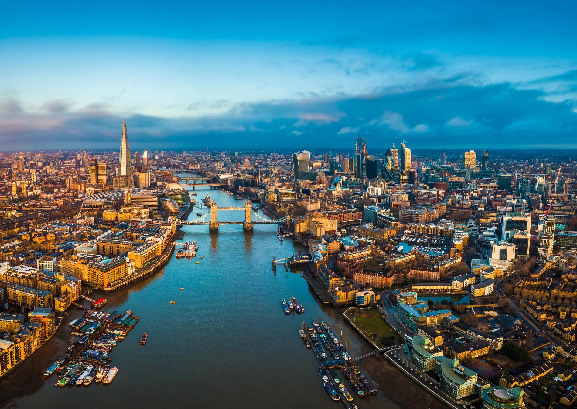 London är weekendstaden som drar iväg rejält.