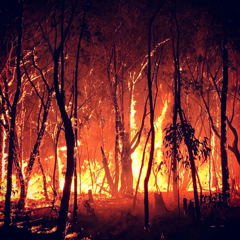 """Johan om hettan under brandbekämpningen: """"Du vet när man var barn och försökte gå så nära elden det bara gick? Tänk den hettan gånger tio."""""""