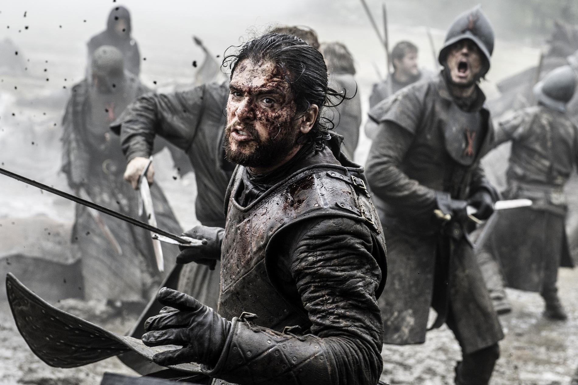 John Snow i Game of thrones