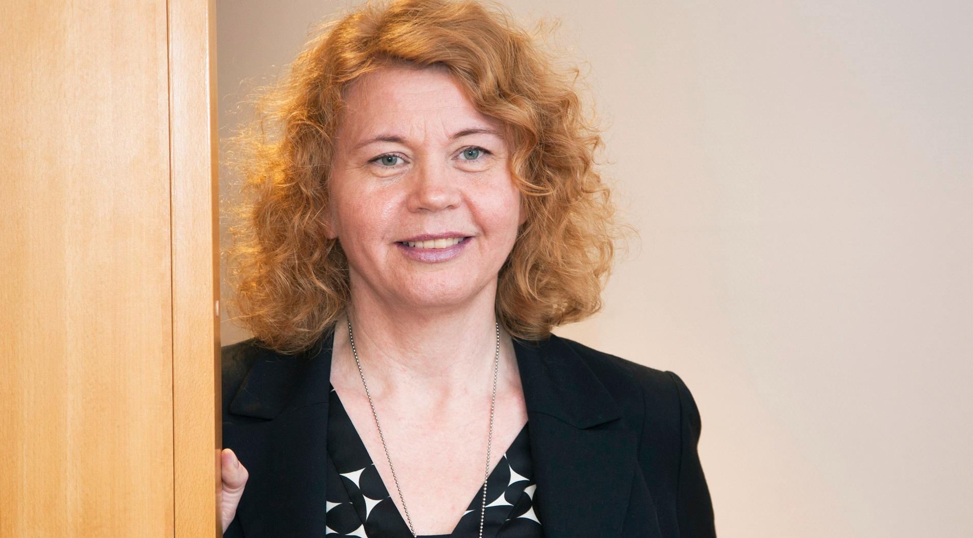 Annelie Westman, chef för IAF:s granskningsenhet.