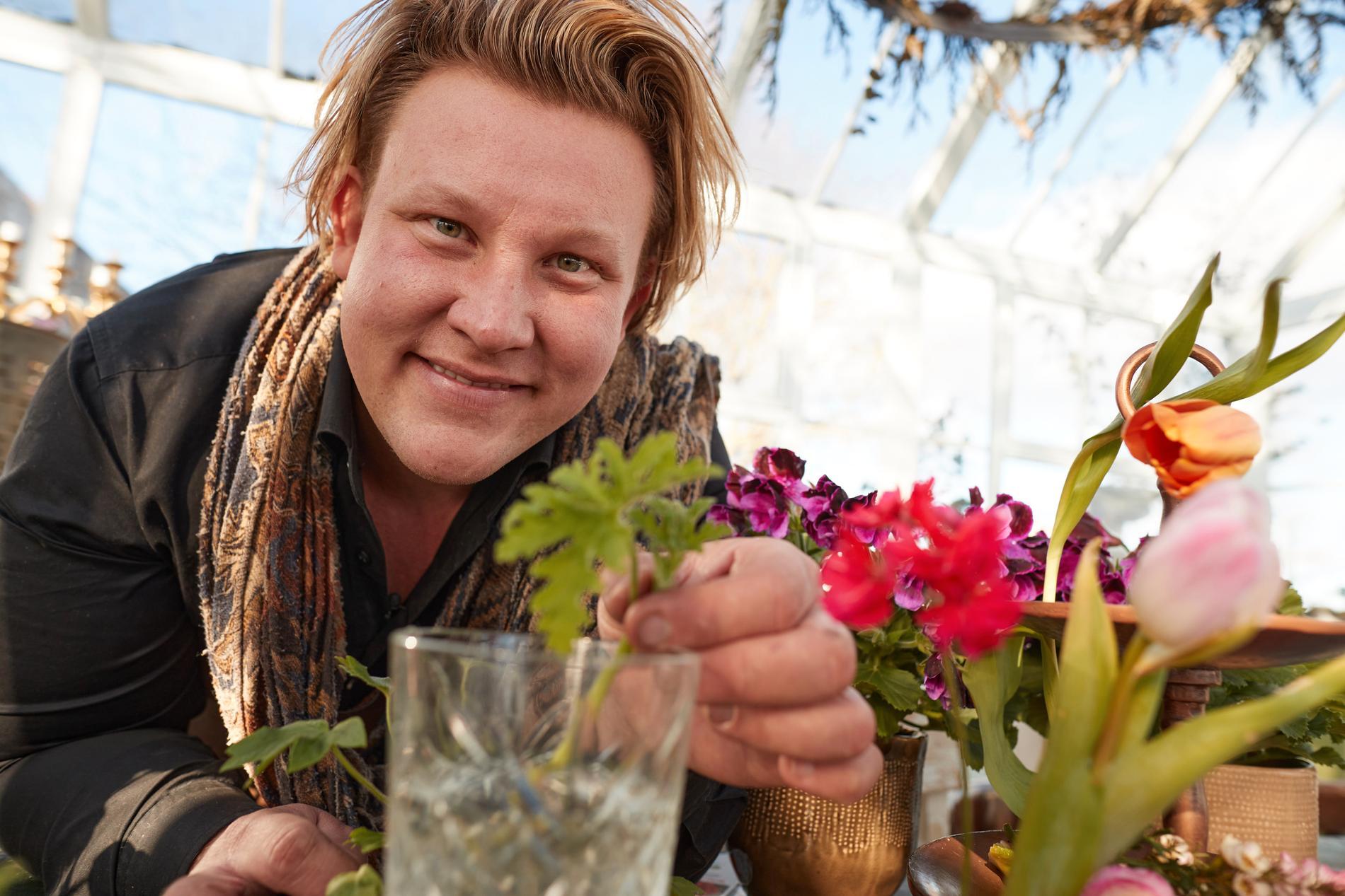 Porträtt på Karl Fredrik Gustafsson