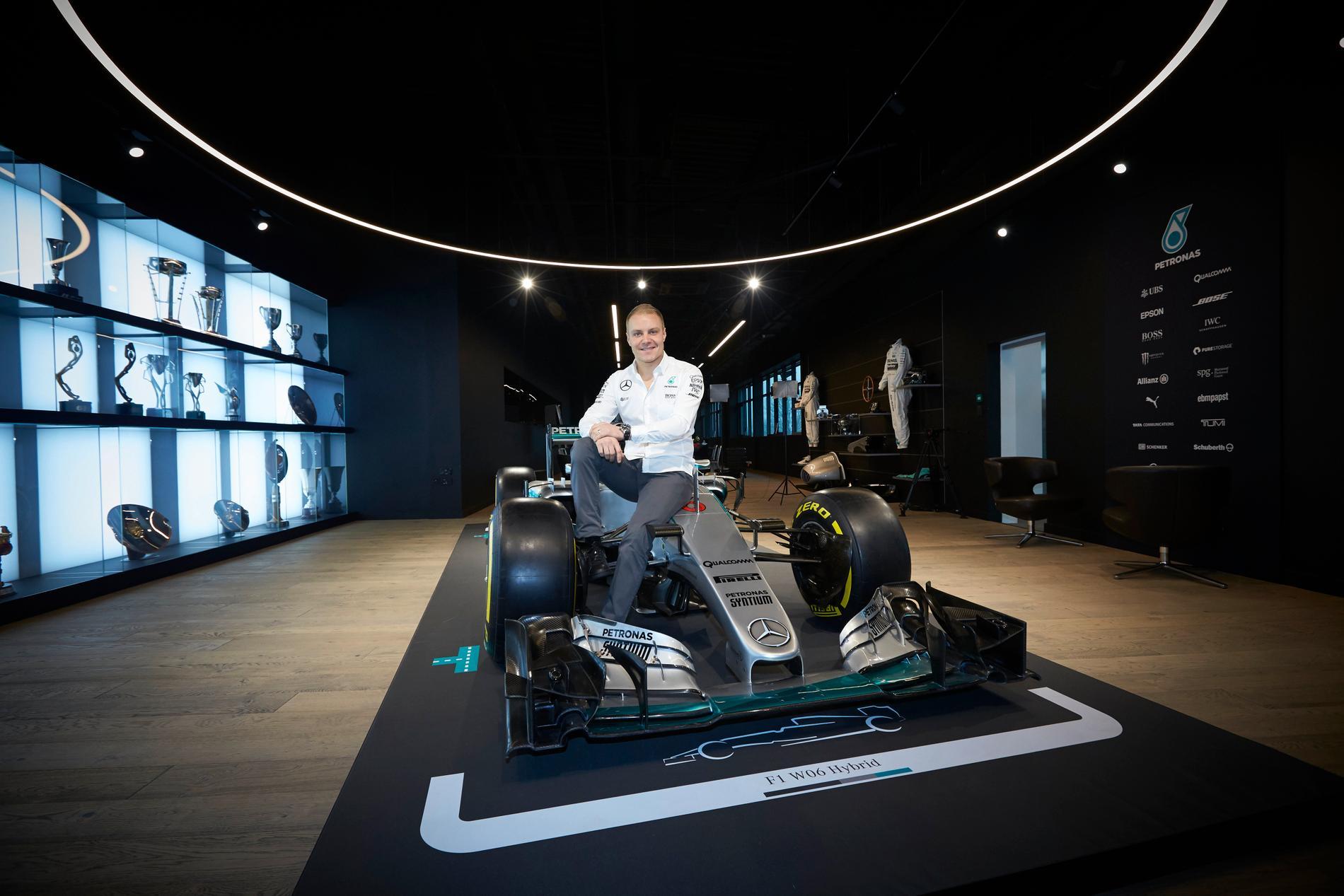 Valtteri Bottas ersätter Nico Rosberg
