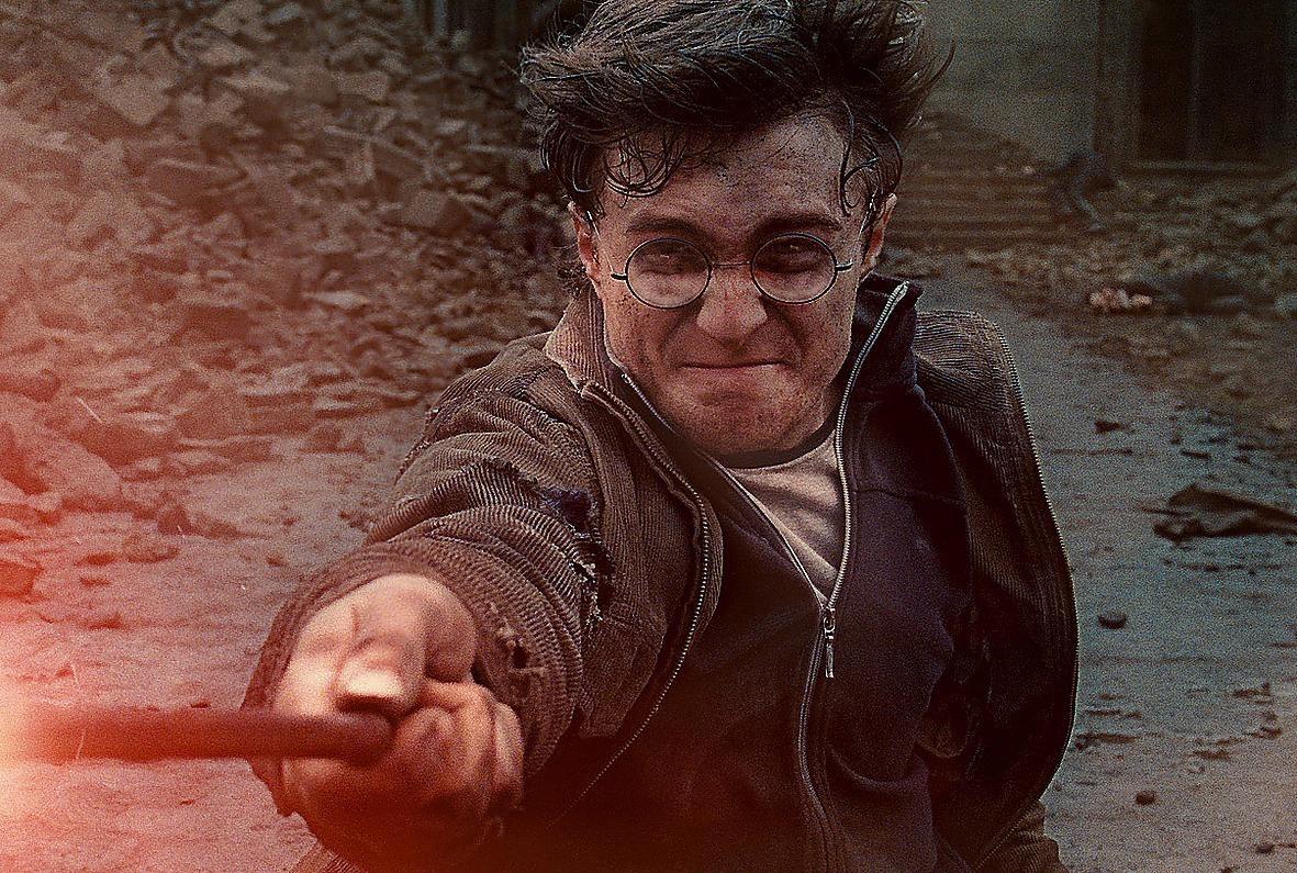 SLÅR REKORD Harry Potter, spelad av Daniel Radcliffe.