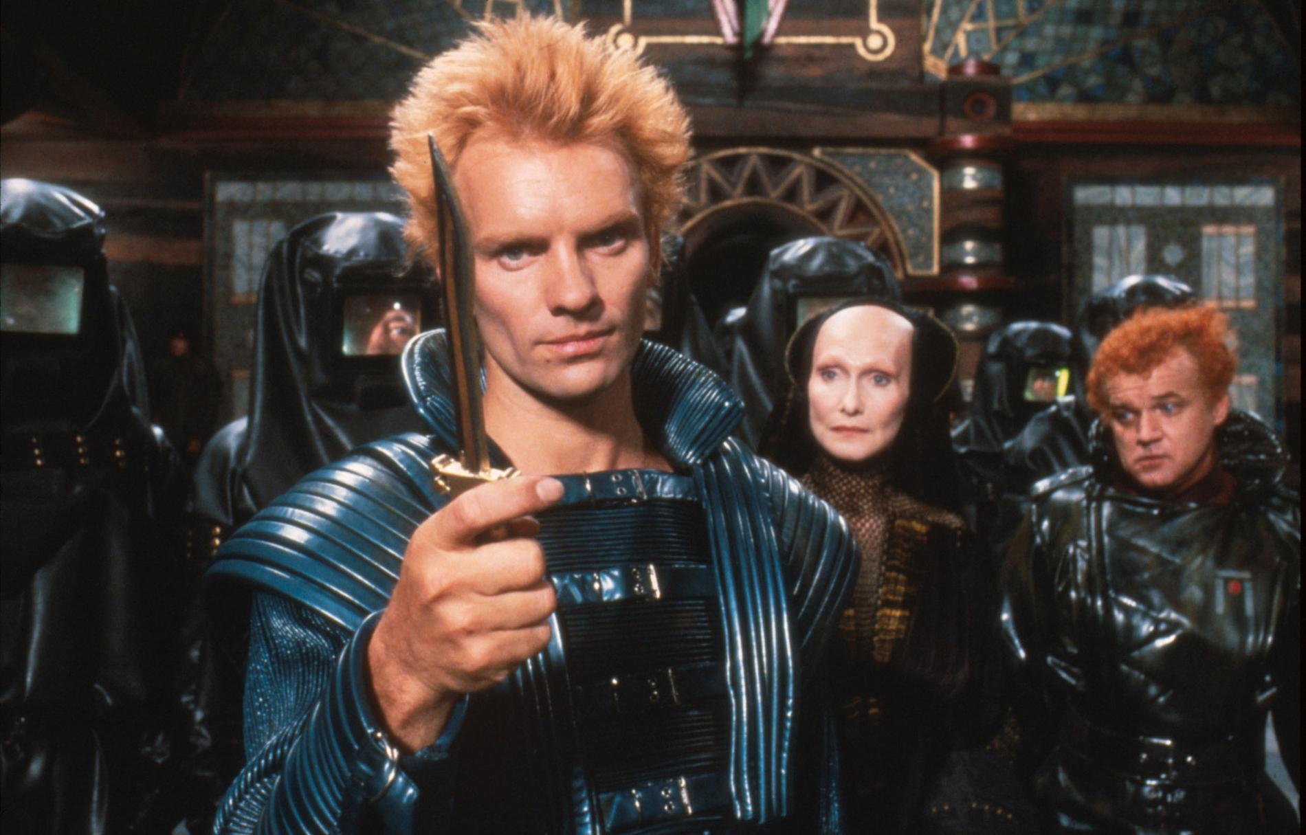 "Sting i 1984 års ""Dune""."