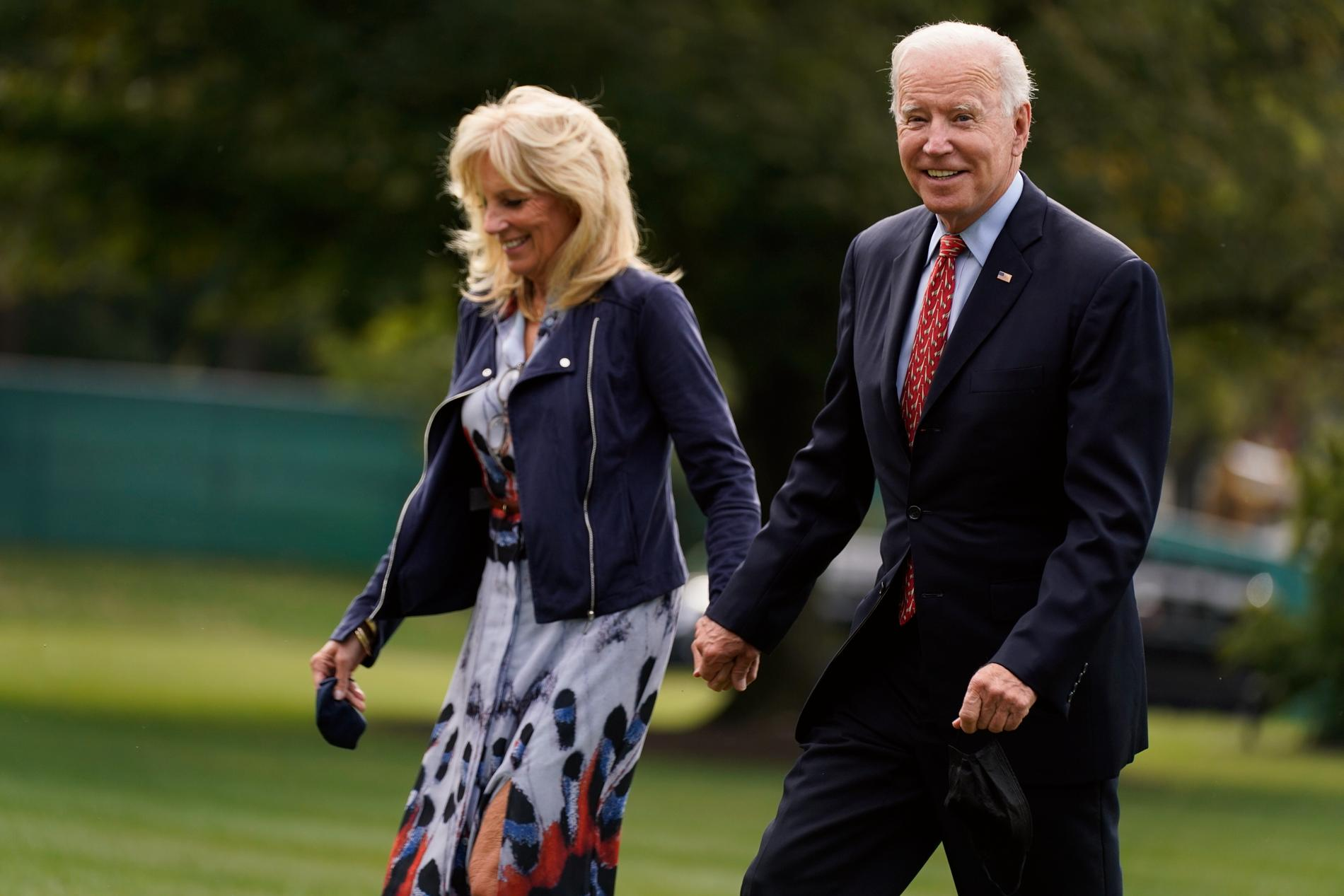 USA:s president Joe Biden och hans hustru Jill Biden ska träffa påven i Vatikanstaten den 29 oktober. Arkivbild.