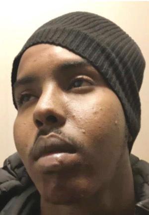 24-årige Haned Mahamed Abdullahi är dömd för ett brutalt knivmord i Skellefteå 2019.