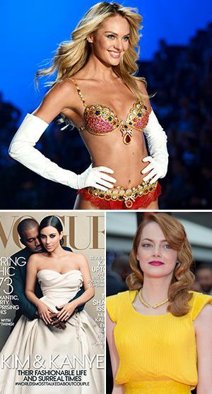 Victoria's Secret drar till London, gå bakom kulisserna hos Vogue och kolla in Emma Stones underbara reaktion.
