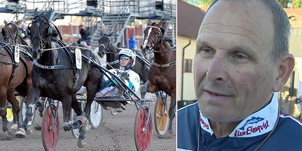 Admiral As och Örjan Kihlström vann V75-1 med Reijo Liljendahls häst.