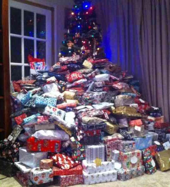 Redan 2015 blev Emmas julklappar snabbt omtalade.