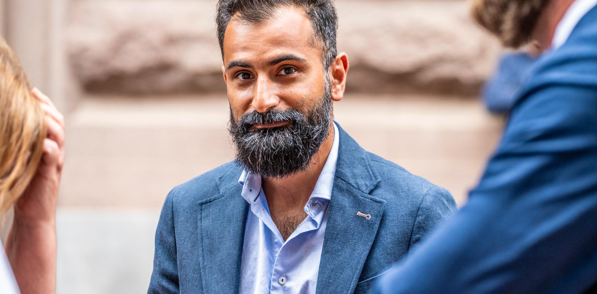 Riksdagsledamoten Hanif Bali (M).