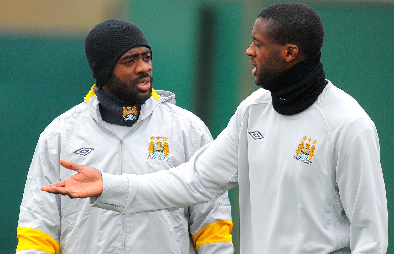 Kolo och Yaya Touré.