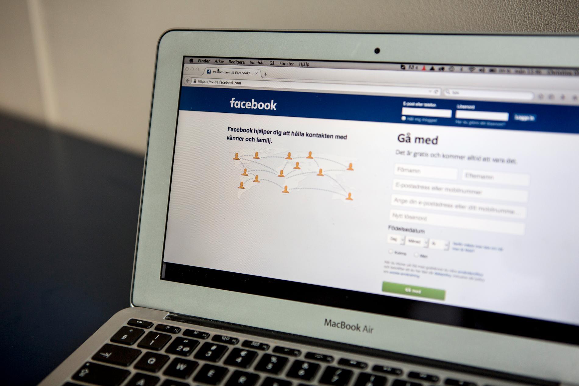 Facebook borde varna användare innan man raderar konton, enligt tysk domstol. Arkivbild.