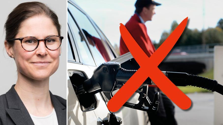 Naturskyddsföreningen anser att ett förbud mot försäljning av bensin och diesel och ett förbud för industrin att använda fossil energi till år 2030 både är nödvändigt och fullt möjligt att genomföra, skriver Johanna Sandahl.