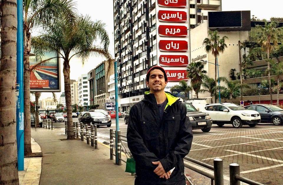 Erico Vitella flyttade till Casablanca på grund av jobb.
